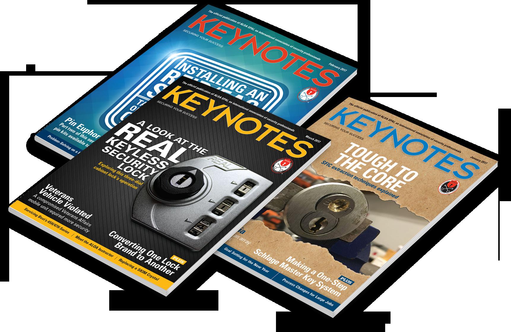 May 2017 Issue of Keynotes